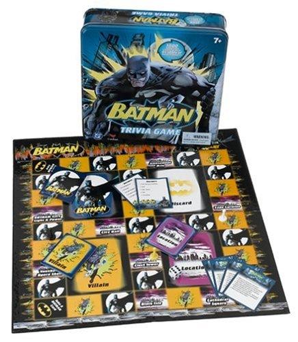 Cardinal Industries Batman Trivia Toys