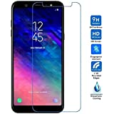 Clorox Proactive Bubble Free Perfect Fitting Tempered Glass for Samsung Galaxy A6 Plus (2018)