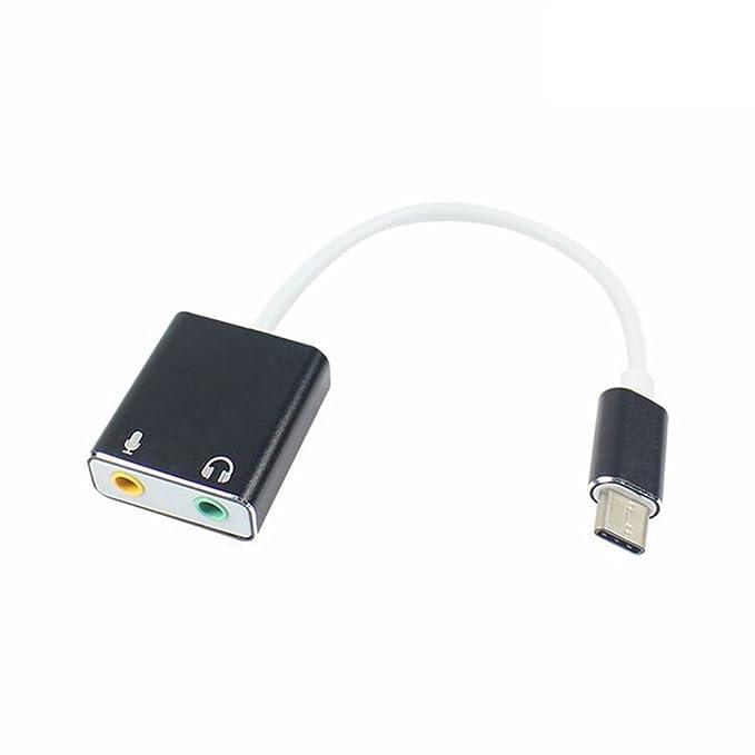 Amazon.com: Tarjeta de sonido USB tipo C para MacBook Pro ...