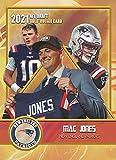 MAC JONES 2021 1ST GOLD DRAFT PICK ROOKIE CARD RC