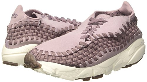 Mujer Air Zapatillas Woven Brown De taupe plum Morado Med Para sail gum Grey Nike Gimnasia Wmns Footscape Fog 8xqff5