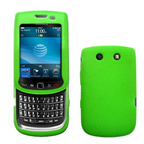 Silicone Skin Case for Blackberry Torch 9800/9810 - Green Blackberry Torch Silicone Skin