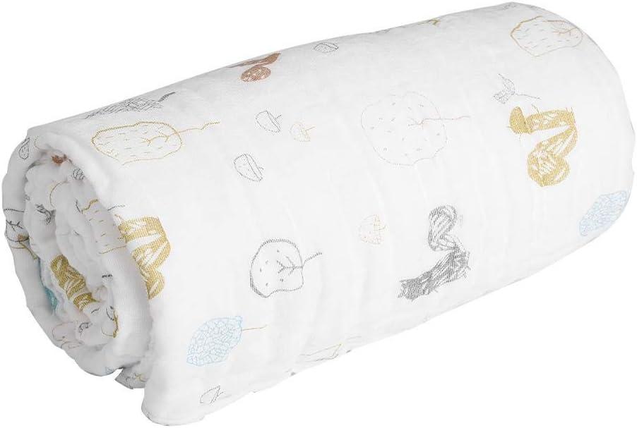 Dog Couverture B/éb/é Super Epais Doux Respirant Coton Couverture Emmaillotage Serviette de Bain Multiusage pour Poussette Linge de Lit Lavable pour Gar/çons Filles Nouveau-n/é B/éb/é Cadeau