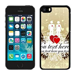 LJF phone case Valentines Day iphone 6 4.7 inch Case Black Cover