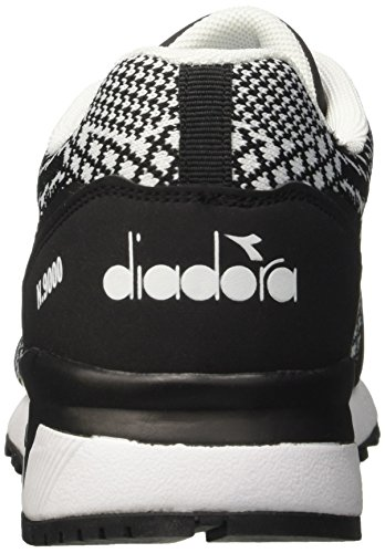 Diadora N9000 mm Evo, Sneaker Uomo Nero (Nerobianco)