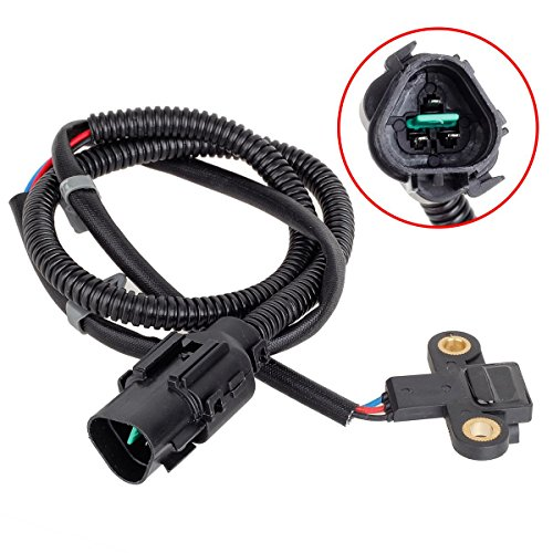 AUTEX Crank Crankshaft Position Sensor CPS SU4975 compatible with Hyundai Sonata 1999-2005/replacement for Kia Magentis 2001-2005/compatible with Kia Optima -