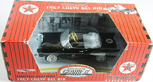 1957 Pedal Car Limited Edition Chevy Bel Air Diecast Black #68257 By Gearbox Pedal Car Company