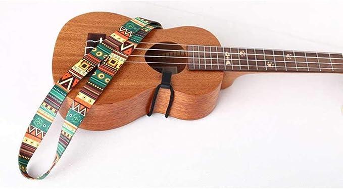 Ritapreaty - Cinturón para Guitarra (Estilo étnico, Correa Colorida para ukelelele, Cinta de Transferencia térmica, Resistente, Longitud Ajustable): Amazon.es: Hogar
