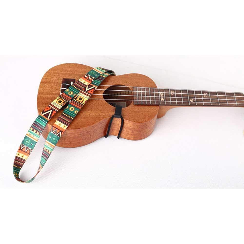 TRULIL Sangle ukul/él/é Nationale Wind Ukul/él/é Petite Sangle Guitare Design /él/égant Sangle