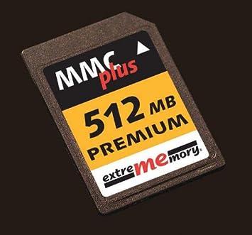 Extrememory 512MB MMCplus 100x Premium Memoria Flash 0,5 GB MMC ...