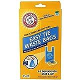 Arm & Hammer 71041 Easy-Tie Waste Bags, Blue, 150-Pack