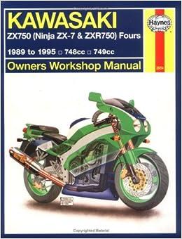 Haynes Kawasaki Zx750 Ninjas Zx7 And Zxr 750 1989 1995 Haynes