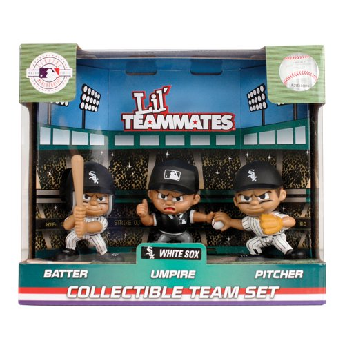 Party Animal Toys MLB Chicago White Sox Lil' Teammates (Pack of 3) -