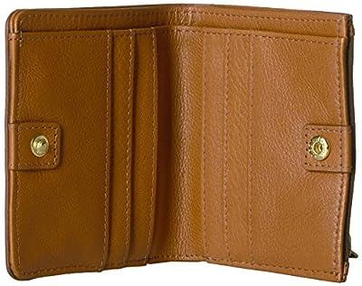 Fossil Caroline Rfid Mini Wallet Saddle Wallet