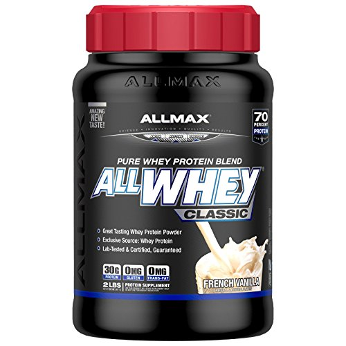 ALLMAX Nutrition AllWhey Classic 100 Whey Protein French Vanilla 2 lbs 907 g (Complete Nutrition Whey Protein)