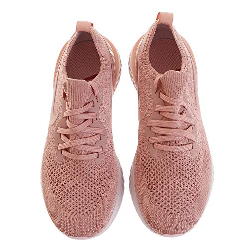 React Rust Nike WMNS Flyknit Women's Top Epic Sneakers Tint tropic Low Pink Pink wqwH8tS