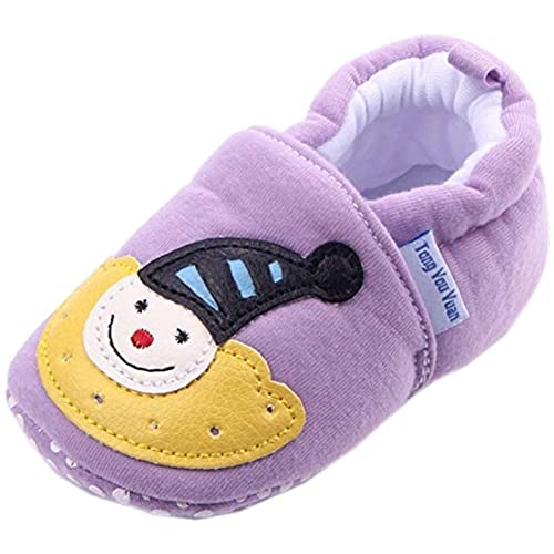 0-1 Year bettyhome Cotton Unisex Baby Newborn Lovely Cat Pattern Soft Sole Infant Toddler Prewalker Sneakers