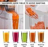 KOIOS Juicer, Masticating Juicer Machine, Slow
