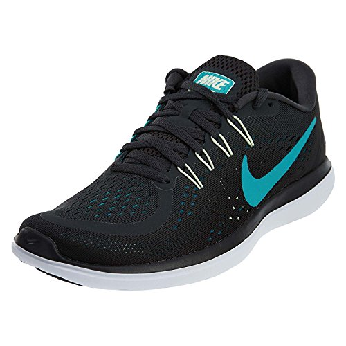 Rn 12 47 Flex Mens Eu 2017 D Uk Nike Universit Pattino m Corrente 5 5 Rosso Nero 5t6qR