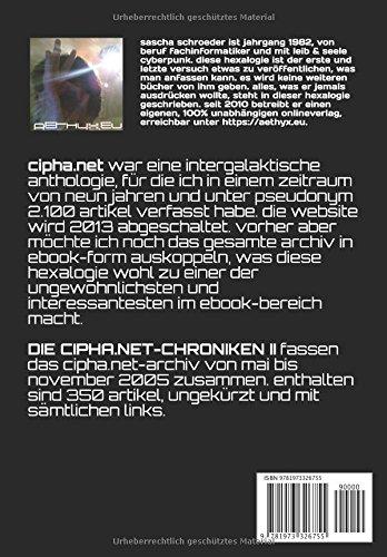DIE-CIPHANET-CHRONIKEN-II-eine-intergalaktische-cyberpunk-anthologie-German-Edition