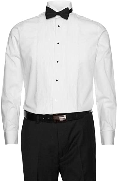 Amazon.com: Gentlemens Collection - Camisas de esmoquin para ...