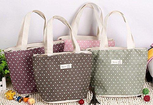 Borse Porta Pranzo Ufficio : Tininna borsa porta pranzo carino punti design resistente acqua