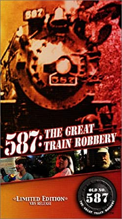 587 The Great Train Robbery VHS