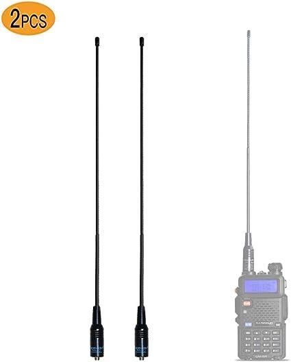 15.6 inch Dual Band 144//430MHz NA-771 SMA-Female Antenna For BAOFENG UV-82 UV-5R