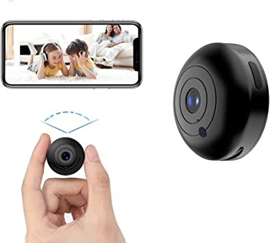 Amazon Com Mini Hidden Camera Wifi Spy Camera Wireless 1080p Oucam Small Spy Cam Nanny Cam With Audio And Video Recording Micro Surveillance Camera For Live Stream Night Vision Motion Activated With Phone App Camera