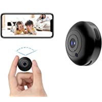 Mini Hidden-Camera WiFi-Spy Camera Wireless 1080P, Oucam Small Spy Cam Nanny Cam with Audio and Video Recording Micro…