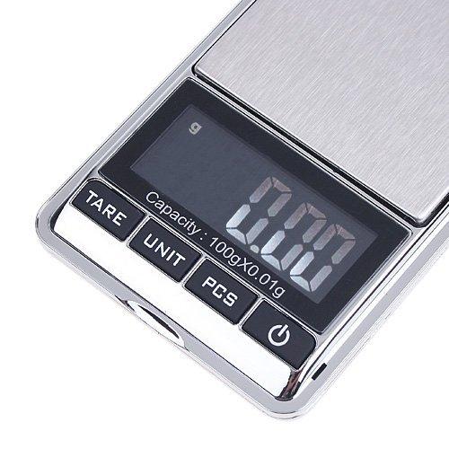 Tomtop 100g x 0.01g Mini Digital Jewelry Pocket Scale LCD by TOMTOP OMEL-EZ-PN-6715256