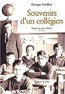 Vosges de mon enfance, Tome 3 : Souvenirs d'un collégien par Garillon