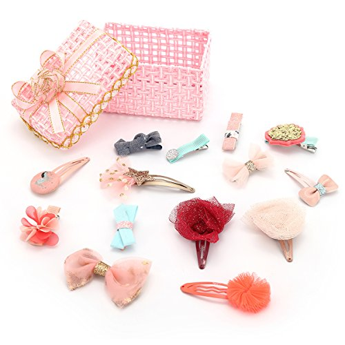 KimmyKu Baby Toddler Hair Clips Hair Bows Accessories Barrettes For Infant Baby girls