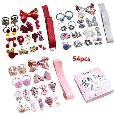 LHTHZHY Baby Girls Hair Clips etal Snap Hair Pins Cartoon Design Hairpins for Kids Toddlers