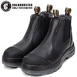 ROCKROOSTER Work Boots for Men, 6 inch Steel