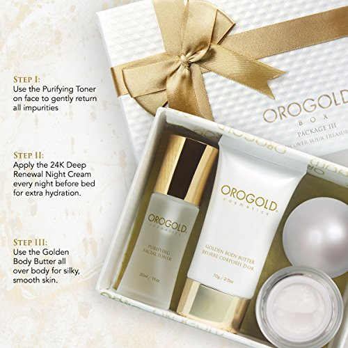 Orogold 24K Luxury Gift Set for Women