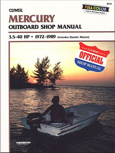 Shop Manual Electrical - Mercury Outboard Shop Manual 3.5-40 Hp 1972-1989 (Includes Electric Motors) [Paperback] [1989] 5th Ed. Randy Stephens