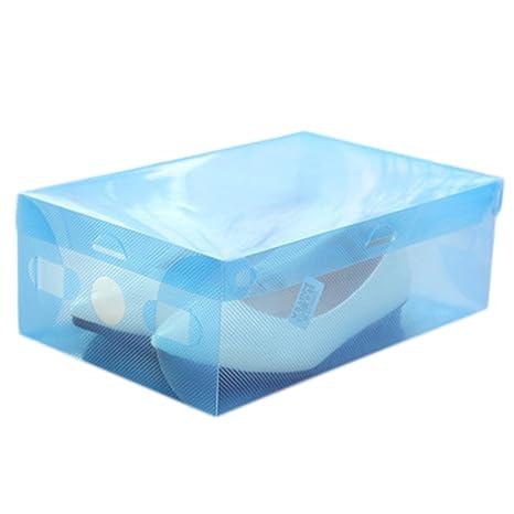 oyfel Rangement de zapato cajas de almacenamiento de caja de zapatos organizador cajón armario estantería modulable