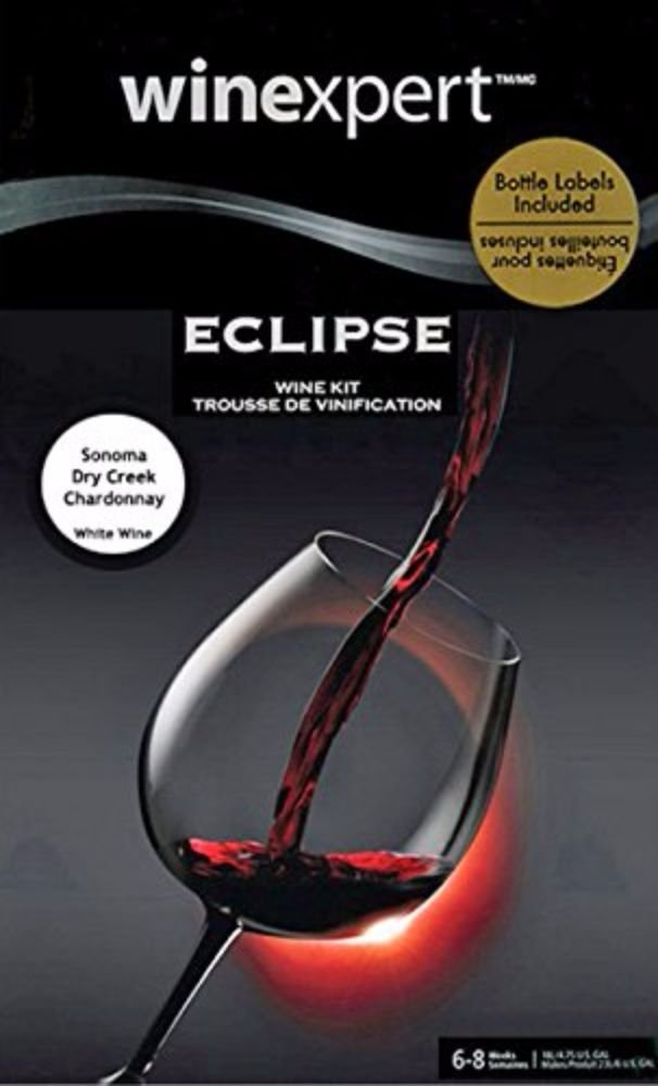 Wine Kit - Eclipse - Sonoma Dry Creek Valley Chardonnay by Winexpert Eclipse (Image #2)