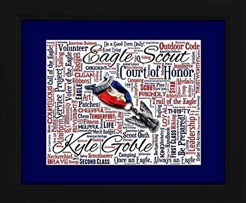 eagle-scout-16x20-art-piece-beautifully-matted-and-framed-behind-glass
