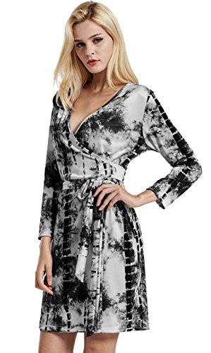 3 4 Length Sleeve Dresses - 4