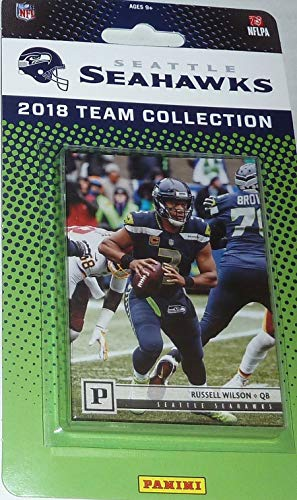 - Seattle Seahawks 2018 Panini Factory Sealed NFL Football Complete Mint 9 Card Team Set with Russell Wilson, Earl Thomas, Rashaad Penny Rookie card plus