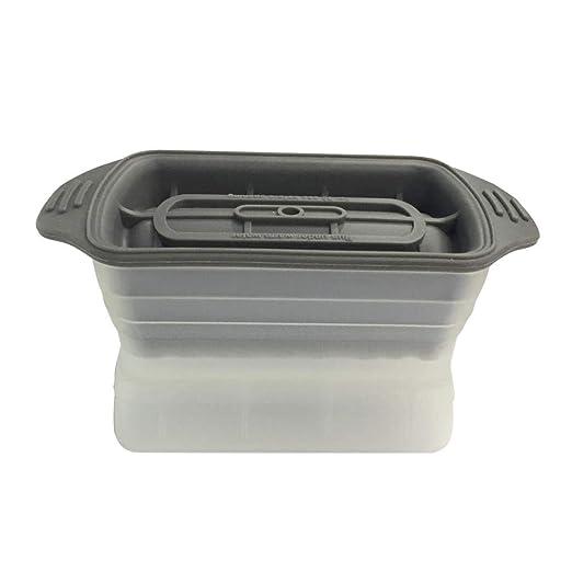 Molde cilíndrico de silicona para cubitos de hielo, de Alvar, para ...