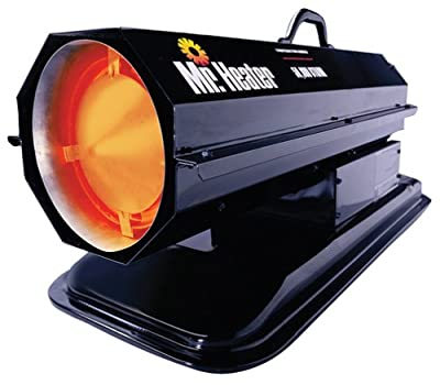 Mr. Heater 50,000 BTU Kerosene Forced-Air Heater #MH50K