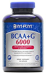 MRM BCAA + G 6000 ULTIMATE RECOVER Capsules