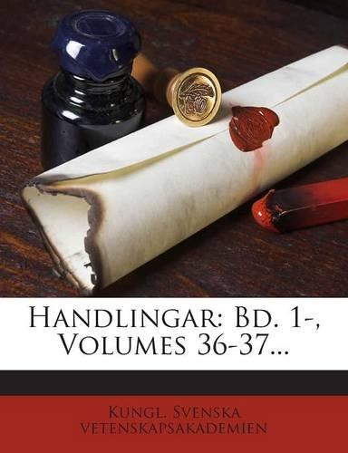 Handlingar: Bd. 1-, Volumes 36-37... (Swedish Edition) pdf