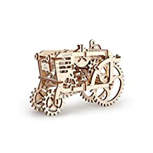 UGEARS Tractor Model Mechanical 3d Puzzle