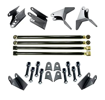 Universal Weld-On Triangulated 4 Link Suspension Kit