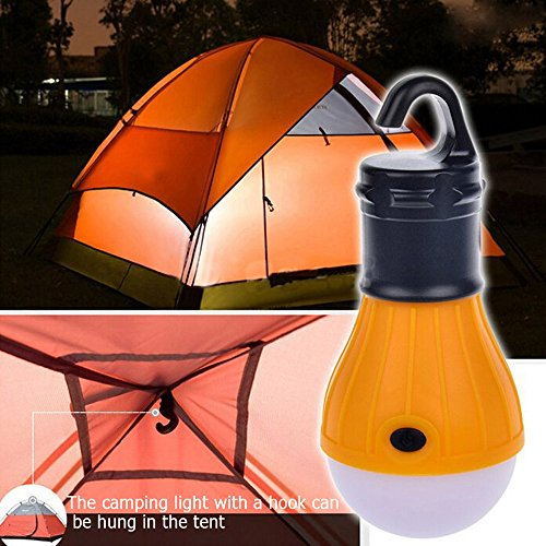 ZLF 4 PCS LED Tent Lamp Hurricane Emergency Tent Light Backpacking Hiking Fishing & Outdoor Lighting Bug Out Bag Camping Equipment Portable Tent Lantern Compact & Water Resistant Gift
