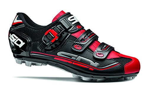 Sidi Dominator 7 Shoes - Mens B01N25G9J0 41.5|Black/Red